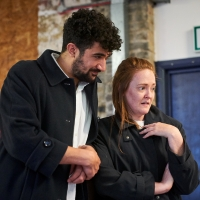 Photo Flash: Inside Rehearsal For HUNGER at Arcola