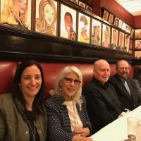 Photo Flash: SAY GOODNIGHT, GRACIE Creatives Reunite at Sardi's Photo