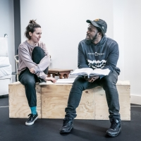 Photo Flash: Inside Rehearsals for Lucy Prebble's THE EFFECT at the Boulevard Theatre