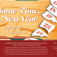 SAME TIME, NEXT YEAR Comes to Riverbank Theatre Photo