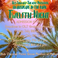 TWELFTH NIGHT Will Be Performed For Free by Old Library Theatre This Month Photo