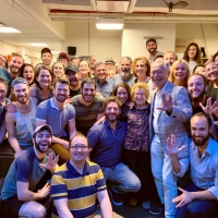 Photo Flash: George Takei Visits FIDDLER ON THE ROOF IN YIDDISH Photo