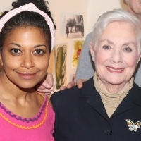 Photo Flash: Shirley Jones Visits OKLAHOMA!