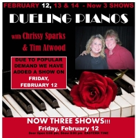 DUELING PIANOS Comes to Beef House Dinner Theater Photo