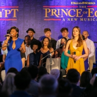 Photo Flash: Inside The Press Launch For THE PRINCE OF EGYPT