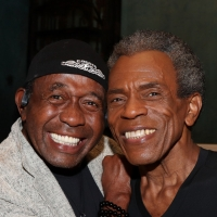 Photo Flash: Ben Vereen Visits HADESTOWN