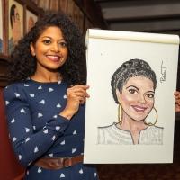 Photo Coverage: Rebecca Naomi Jones Receives Portrait at Sardi's Photo