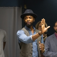 Photo Flash: Inside First Rehearsal For The New Group's ONE IN TWO