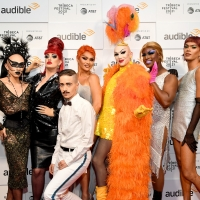 Photo Flash: Drag Stars and More Turn Out for Premiere of HOT WHITE HEIST Podcast