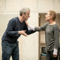 Photo Flash: In Rehearsal For CONSTELLATIONS, With Zoe Wanamaker and Peter Capaldi Photo