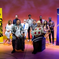 Photos: Casts of THE LION KING & ALADDIN Reunite at the New Amsterdam Theatre Photo
