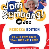 JOM SEMBANG WITH JOE! Will Stream Next Week Photo