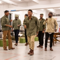 Photo Flash: Take a Look at Rehearsal Photos from Roundabout's A SOLDIER'S PLAY Photo