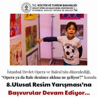 Opera Bale İstanbul Extends Children's Painting Competition Photo