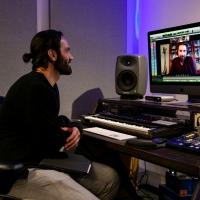 Photo Flash: Ramin Karimloo In Studio To Record Johanna Telander's KALEVALA THE MUSIC Photo