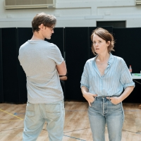 Photo Flash: Inside Rehearsal For LUNGS at the Old Vic, Starring Claire Foy and Matt Smith