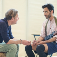 Photo Flash: Go Inside Rehearsals for THE INVISIBLE HAND at Kiln Theatre Photo