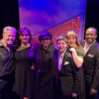 Photo Flash: Joan Collins Visits Forbidden Broadway: The Next Generation