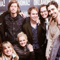 Photo Flash: Sam Rockwell Stops By OKLAHOMA! On Broadway Photo