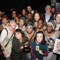 Photo Flash: The Cast of HADESTOWN Celebrates Their Grammy Win Photo