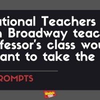 #BWWPrompts: Which Broadway Teacher Would You Want to Take a Class With? Photo