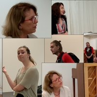 Photo Flash: Inside The Rehearsal Room For RUNNING: A NEW PLAY At New York Theater Summerfest