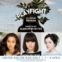 Finborough Theatre Presents PLAYFIGHT Online Photo