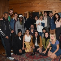 BWW Exclusive: Eva Noblezada, Reeve Carney and the Cast of HADESTOWN Get in the Holid Photo
