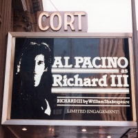 Vintage Marquee: Al Pacino in RICHARD III At The Cort Theatre Photo