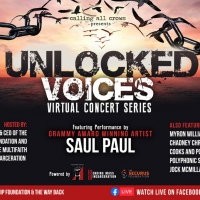 Unlocked Voices Announces Third Livestream Fundrasing Event Photo