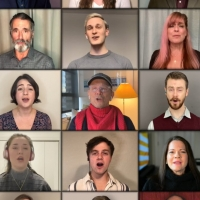 VIDEO: The Cast of FIDDLER ON THE ROOF Performs 'God Bless America' in Yiddish in Ho Photo