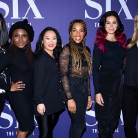 Photo Coverage: The Company of SIX on Broadway Gets a Royal Welcome