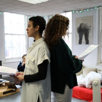 Photo Flash: Go Inside Rehearsals for V&V Coming to VAULT Festival this March
