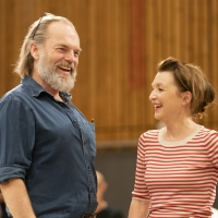 Photo Flash: Inside Rehearsal For THE VISIT at the National Theatre
