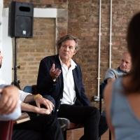Photo Flash: Inside Rehearsal For THE PERMANENT WAY at The Vaults