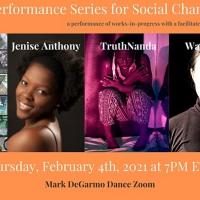 Mark DeGarmo Dance Broadcasts its Virtual Salon Performance Series for Social Change 2020-2021