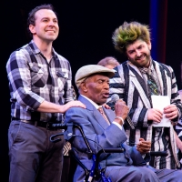 Photo Coverage: 'Day-O' Songwriter Lord Burgess' Celebrates His 95th Birthday At BEETLEJUICE! Photos