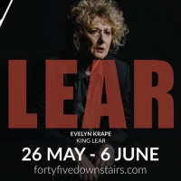 Evelyn Krape Plays Title Role in Melbourne Shakespeare Company's KING LEAR Beginning Tomor Photo