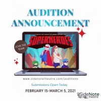 Auditions Announced For SUPERHEROES at SideNote Theatre Photo