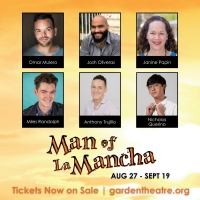 MAN OF LA MANCHA Comes to the Garden Theatre This Month Photo