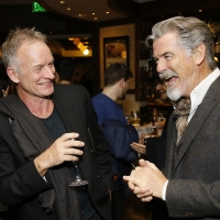 Photo Flash: Pierce Brosnan, Courteney Cox, Keala Settle and More At Opening Night of Sting's THE LAST SHIP Photos