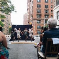 Photo Flash: Guilty Pleasures Cabaret Dazzles NYC Streets with  SIDEWALK SPEAKEASY Photo