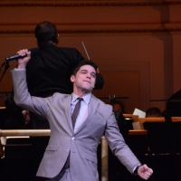 Photo Coverage: Jeremy Jordan Performs With The New York Pops Photos