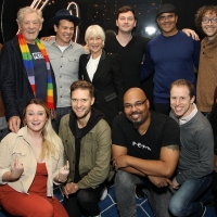 Photo Flash:  Sir Ian McKellen and Dame Helen Mirren Stopped by FREESTYLE LOVE SUPREME