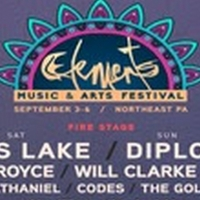 Artists Announced Today For 4th Annual Elements Music & Arts Festival Photo