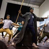 Photo Flash: Inside Rehearsals For MOBY-DICK at ART Photos