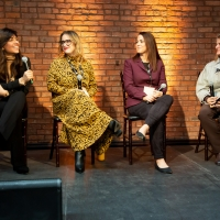 Photo Flash: BroadwayHD's Bonnie Comley Speaks on Panel at Women in Media Event