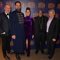 Photo Flash: Stephen Schwartz, Elaine Paige, and More at Opening Night of THE PRINCE OF EGYPT Photos
