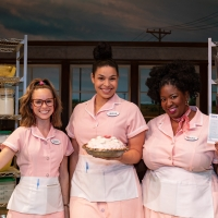 Photo Coverage: WAITRESS Leading Ladies Look Pretty in Pink for Breast Cancer Awareness Month Photos