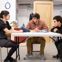 Photo Flash: Check Out Rehearsal Photos From Roundabout's 72 MILES TO GO...